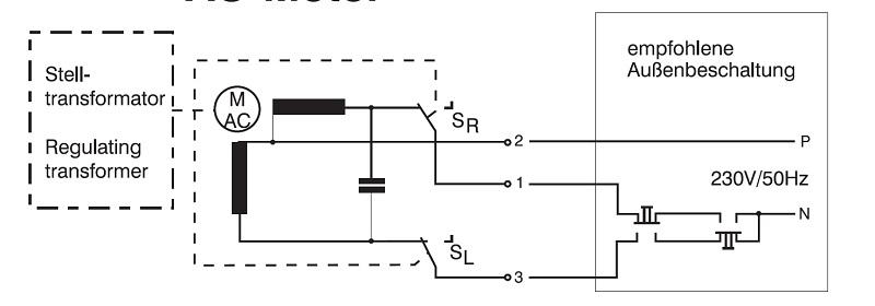 einphasensparstelltransformator ess mac dc mit 4 punkt. Black Bedroom Furniture Sets. Home Design Ideas