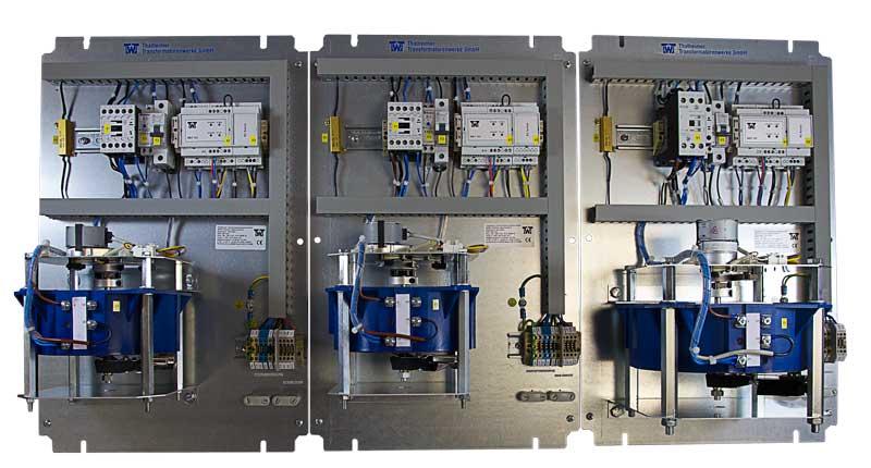 Einphasensparstelltransformator ESS MAC/DC mit 4 Punkt Flansch ...